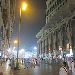 Suasana Mekkah dini hari jalan menuju hotel