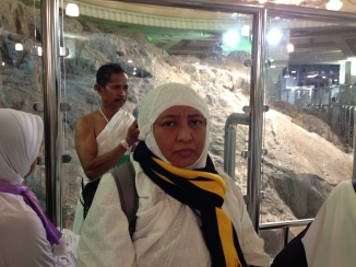 Selesai tahalul di bukit Marwah